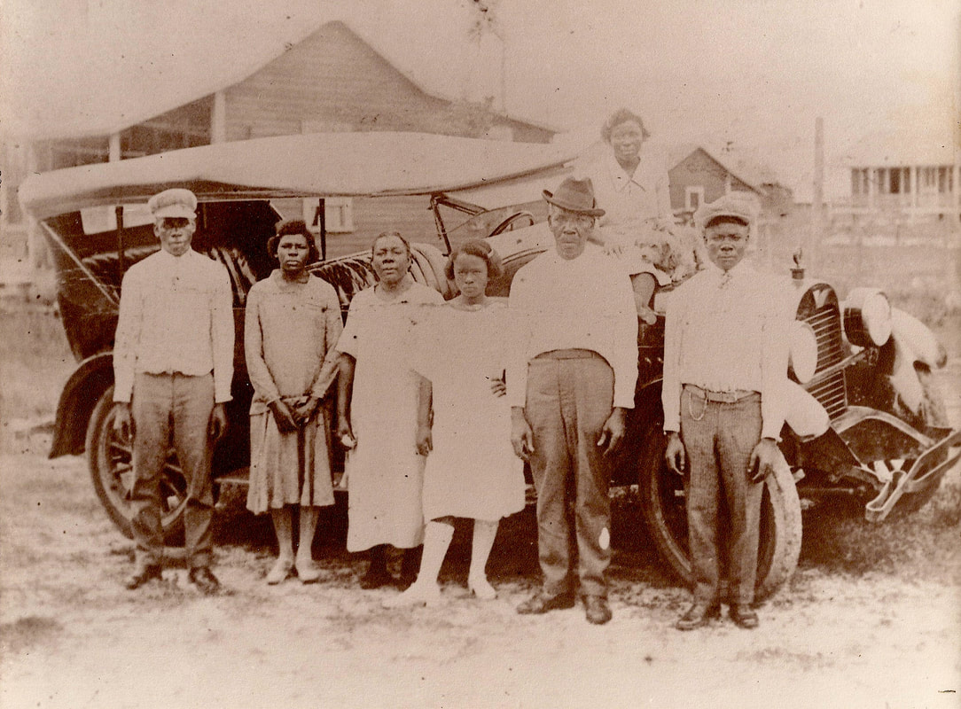 Councilman khalid's Grandmother (center) with his Great Grandparents, ca. 1925 khalidCares.com/BlackHistory
