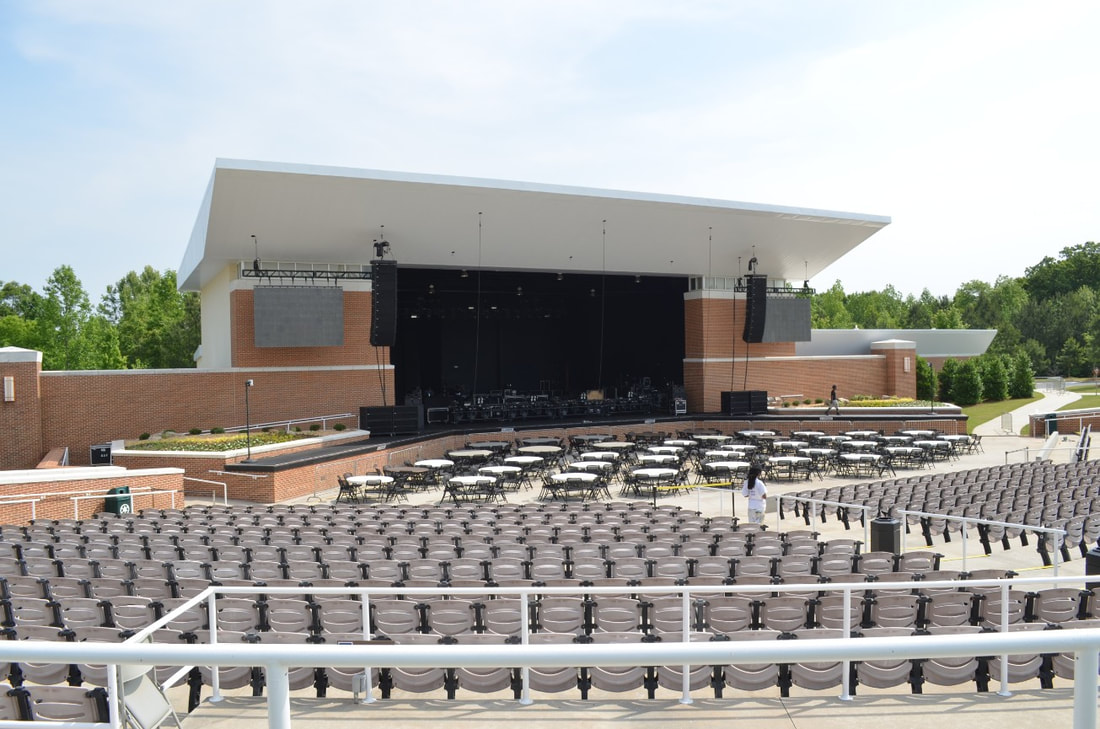 South Fulton's Wolf Creek Amphitheater hosts 5000+ people. khalidCare.com